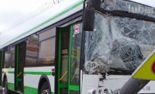 ДТП автобуса в Люберцах
